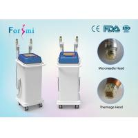 Wholesale Vertical 2 heads mini thermage cpt skin rejuvenation machine factory sale from china suppliers