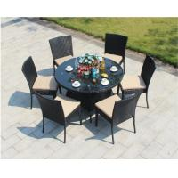 Wholesale PE Rattan wicker chair Hotel Aluminium Outdoor Garden Patio chair and table from china suppliers