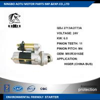 Wholesale 24V Commercial Vehicle Parts M93R3016SE HIGER Engine Starter Parts / Car Starter Motors from china suppliers
