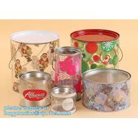 Packaging Empty Airtight Food sealed storage sweets cookies Dry fruit flower Pop corn tuna Clear plastic Nuts pull tab c for sale