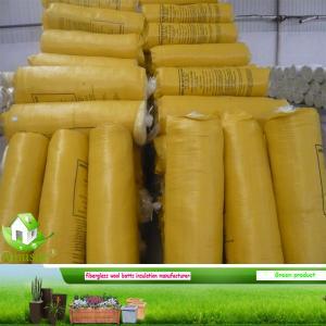 China glass wool batts on sale