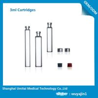 Wholesale NO Silicide Insulin Pen Cartridge Neutral Borosilicate Glass Material from china suppliers