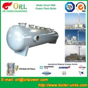 High pressure hot water boiler mud drum ASME certification manufacturer