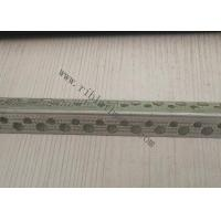 China 2cm Wing Perforated Metal Galvanized Corner Bead For 0.325mm Thickness for sale