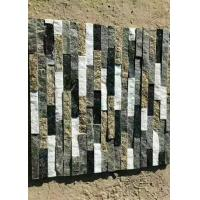 China Natural slate marble culture stone sawn cut split China grey multi color for sale