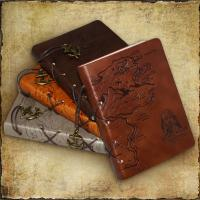 Wholesale high quality handmade leather diary organiser from china suppliers