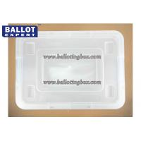 Wholesale Multi - function 60 Liter Dust proof File Plastic Storage Box With Wheel from china suppliers