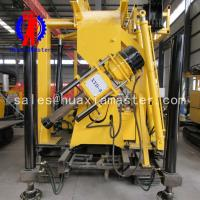China Xyd-3 crawler drilling rig realizes remote control of variable speed rope coring rig with 60mm drill pipe on sale