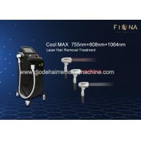 Commercial Diode Laser Hair Removal Machine 600W High Laser Power 15 * 20mm Large Spot Size for sale