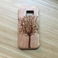 Wholesale Carving Design Cherry Samsung Wood Case S7 Edge Use Separating Type from china suppliers