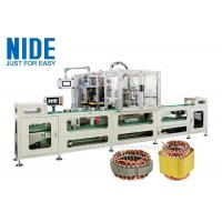 Wholesale Full automatic Induction Motor Stator Wire Lace Machine production assembly line / 4 stations Coil Lacer Machine from china suppliers