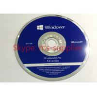 Wholesale Computer System Software Windows 8.1 Pro 64 Bit Oem Key Code / Windows 8.1 Retail Version from china suppliers