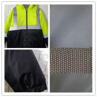 China Loose Fit Warm Reflective Apparel High Visibility For Winter L - XXXL Optional for sale