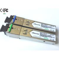 Wholesale 155Mbps 40km 1310nm/1550nm SFP Optical Transceiver single fiber SC SFP WDM from china suppliers