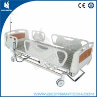 Wholesale Removable Cardiac Full Electric Hospital Beds ABS Headboard / Footboard from china suppliers