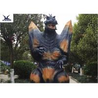 Quality 2.3 Meters Amusement Park Giant Realistic Dinosaur Models Animatronic Godzilla for sale