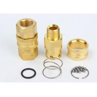 Wholesale Valveless Structure High Flow Coupler Brass / SS304 LSQ-RD Interchange With NITTO TSP from china suppliers
