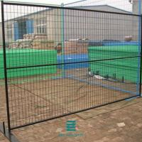 China Customizable Removable mesh Fence Rigid Black Hot dipped galvanized  Welded Wire Mesh Fence Panels for sale