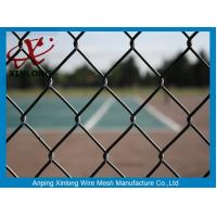Wholesale Green PVC Coated Chain Link Fence 50*50mm Fence Screen for Tennis Court from china suppliers