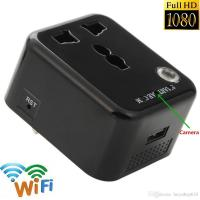 Wholesale 1080P HD No Hole Mini DV Spy Hidden Camera DVR USB Camera Charger AC power Adapter Motion Detection Plug Record Cam from china suppliers