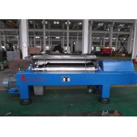 Wholesale Blue Horizontal Decanter Centrifuge Speed 3600 R/Min Starch Washing And Dehydrating from china suppliers