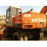 Wholesale Used Wheel Excavator Hitachi EX100WD-1 from china suppliers