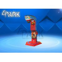 China Big Punch Boxing Arcade Game Machine Electric Coin Operated  Indoor on sale