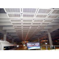 Wholesale Interior Galvanized Iron Wire Expanded Metal Mesh Ceiling , Powder Coating Suspended Metal Ceiling Tiles from china suppliers