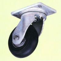 Wholesale Heavy-Duty Drop Forged Caster in Zinc-Plated Finish from china suppliers