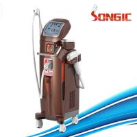 China Vertical brown color 600w 808nm Diode Laser Hair Removal Machine 220V / 230V / 110V for sale