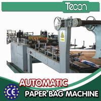 China Automatic Energy Saving Paper Bag Making Machine with Flexo Printing for sale