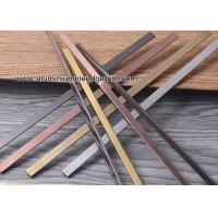 Wholesale Mirror/Brush Gold Stainless Steel Inlay T Patti / Profile T19/T12/T19/T25 from china suppliers