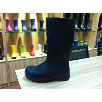 Wholesale Size 21 / 35 Childrens Garden Rain Boots Black Water-proof from china suppliers