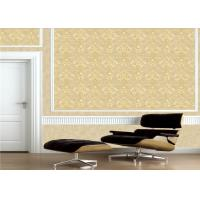 Wholesale Classic Embossed Damask Wallpaper , Vintage Embossed Vinyl Wallpaper from china suppliers
