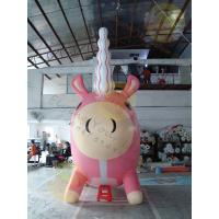 Wholesale Attractive Large Inflatable Unicorn , Customized Durable Unicorn Balloon from china suppliers