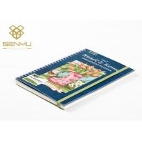 China Custom Printed Brochures Spiral Binding 350g Cover And 120g Inside Pages for sale