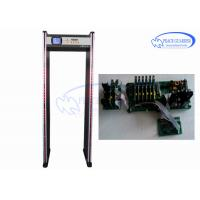 Wholesale Adjustable Alarm System Archway Metal Detector 33 Zones For Bus Station Security Check from china suppliers