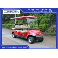 Wholesale 6 Seater Custom Street Legal Electric Golf Carts With Dry Battery For Multi 8v*6pcs from china suppliers