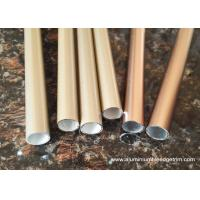Wholesale T3 ~ TT8 20 x 20 Aluminium Oxide Round Tube With Golden and Copper Color from china suppliers