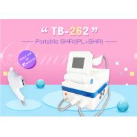 China IPL SHR Hair Removal , Age Spots Removal , Sider Vein Removal Skin Rejuvenation Machine on sale