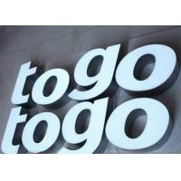 China Custom Backlit Waterproof LED Channel Letters Signs For Chain Stores LOGO on sale