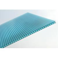 China Waterproof Blue Polycarbonate Sheet / Double Wall Polycarbonate Greenhouse Panels on sale