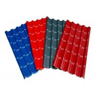 Wholesale Red Grey Blue Pre Painted Corrugated Sheet DX51D SGCC Slip Resistance For Roofing from china suppliers