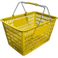Buy cheap Shopping basket plastic from wholesalers