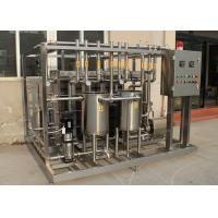 Wholesale Stainless steel UHT Sterilization Machine Semi automatic Plate Type Sterilizer Equipment from china suppliers