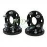 MINI COOPER Aluminium Wheel Spacer Adapter S black 4X100 hub centric for sale