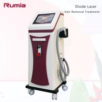 China Triple Wavelengths 755nm 808nm 1064nm  Diode Laser Hair Removal Machine Stationary Strong Power on sale