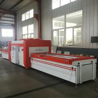 China Easy And Efficient Pvc Vacuum Press Machine No Pollution No Peculiar Smell on sale