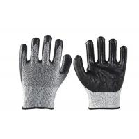 Comfortable Mechanics Nitrile Work Gloves , Industrial Cut Resistant Gloves for sale