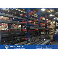 Wholesale Roll - Formed Cantilever Storage Rack System With Specialized Steel Decking from china suppliers
